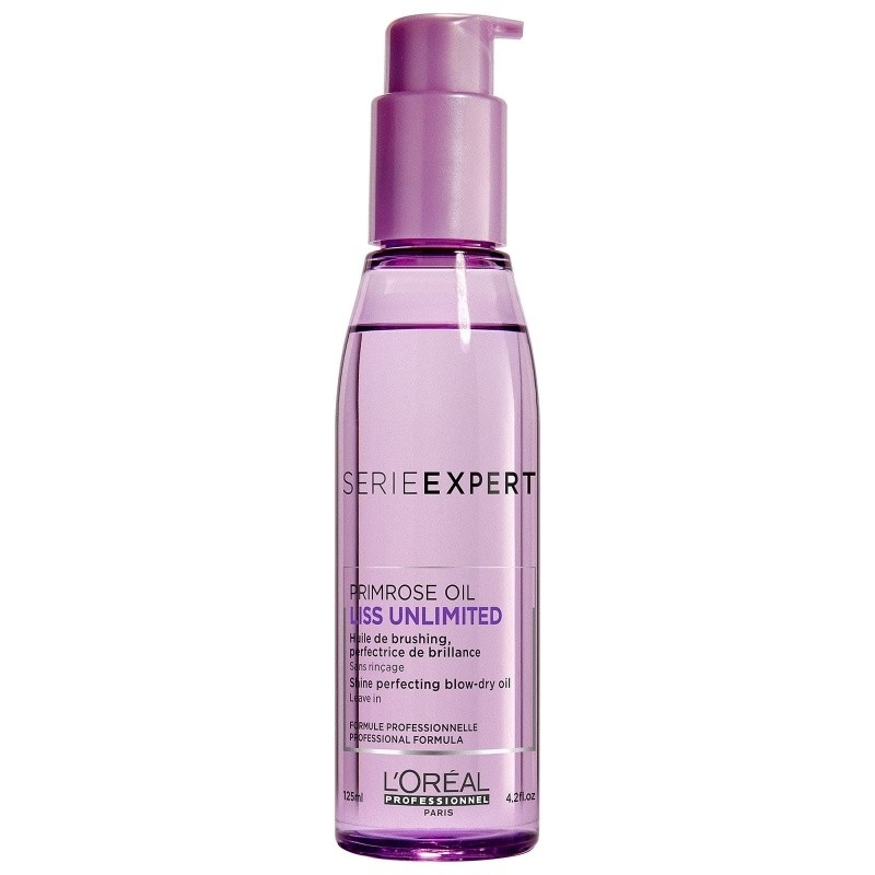 L'Oréal Liss Unlimited Shine perfecting blow-dry oil