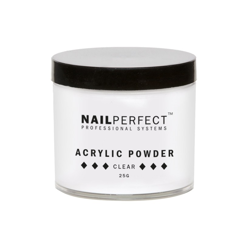 Nail Perfect Acryl poeder clear 25gr