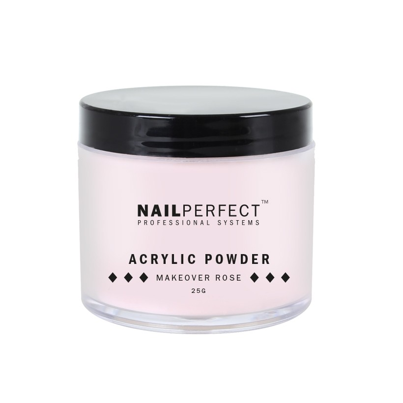 Nail Perfect Acryl poeder Makeover Rose 25gr