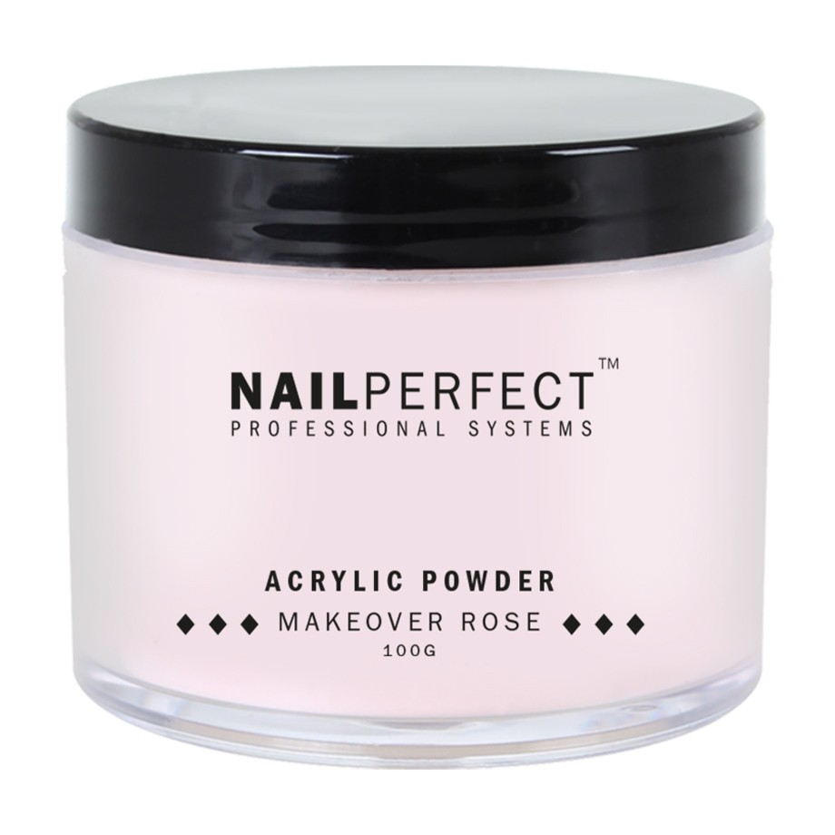 Nail Perfect Acryl poeder Makeover Rose 100gr