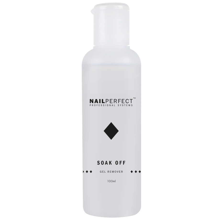 Nail Perfect Soak Off Gel Remover 100ml