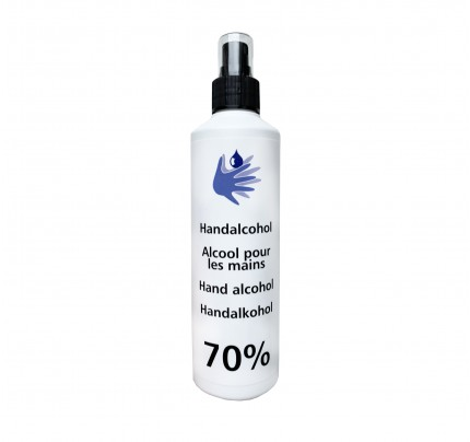 Carin desinfecterende lotion 70%