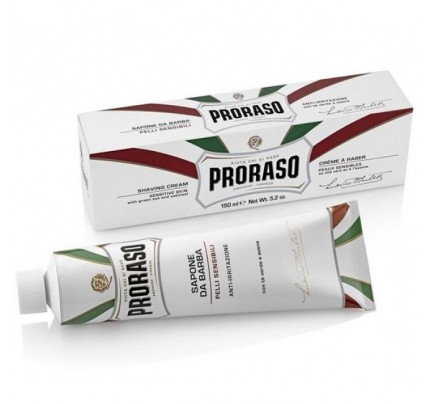 Proraso Scheerzeep Tube Wit